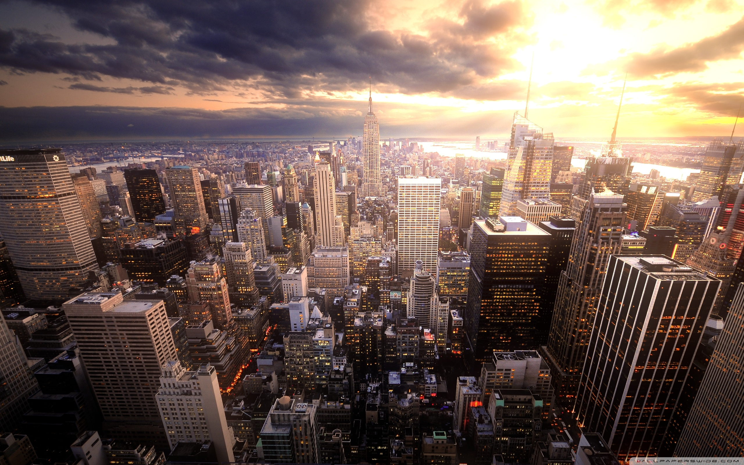 Manhattan 4K HD Desktop Wallpaper for 4K Ultra HD TV Tablet 2560x1600