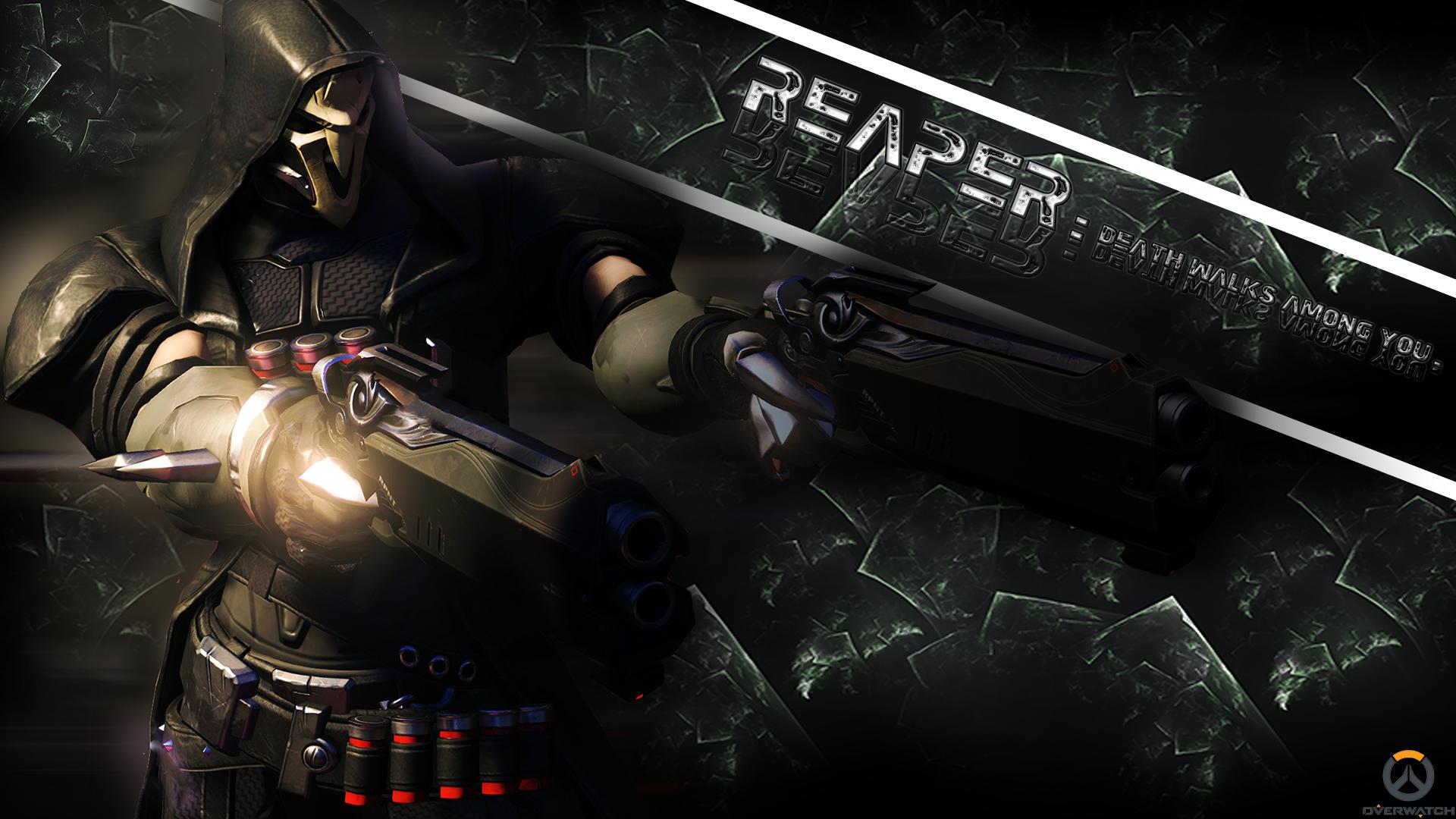 48 Overwatch Reaper Wallpaper On Wallpapersafari
