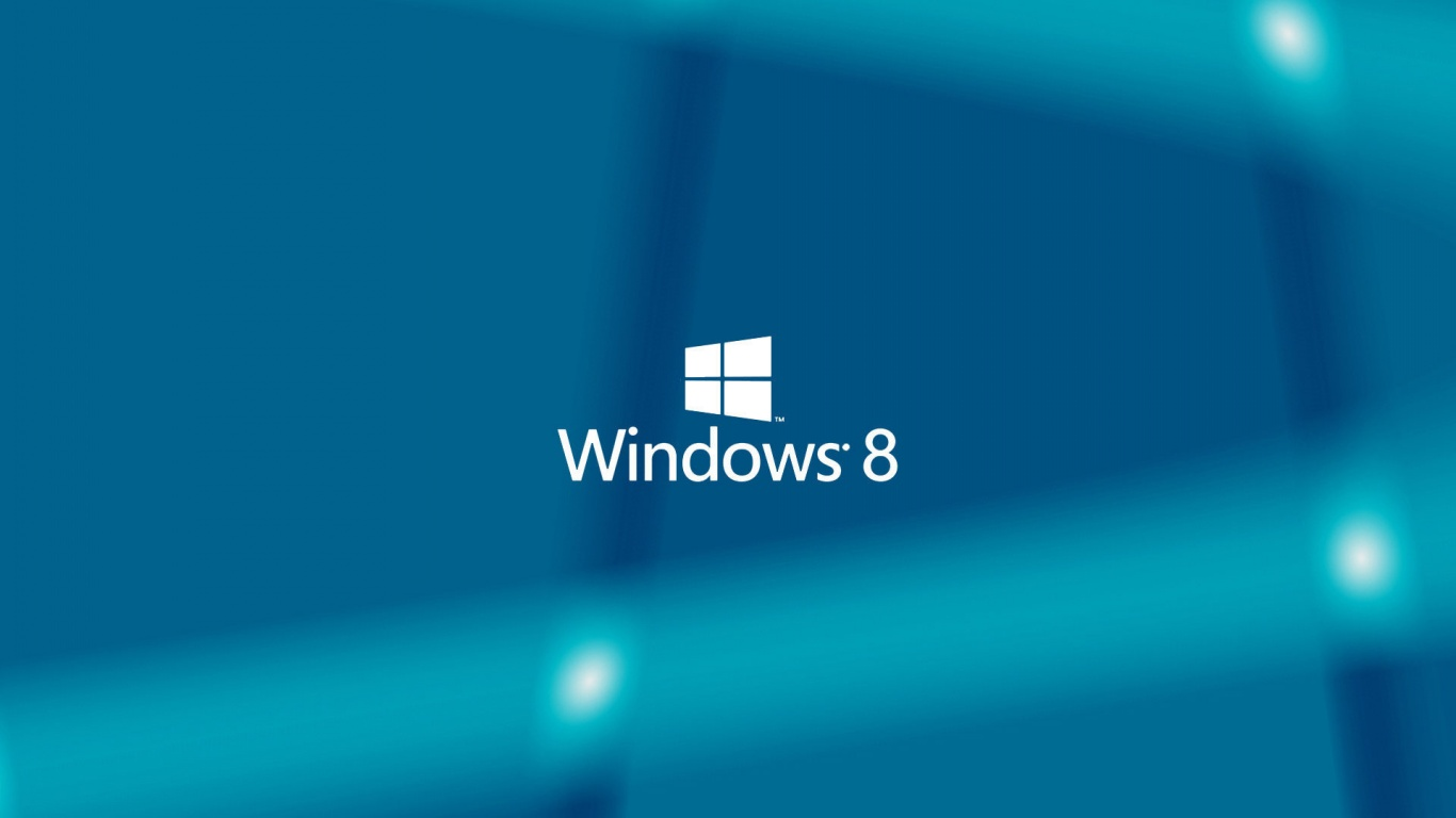 1366x768 Windows 8 Blue Background desktop PC and Mac wallpaper 1366x768