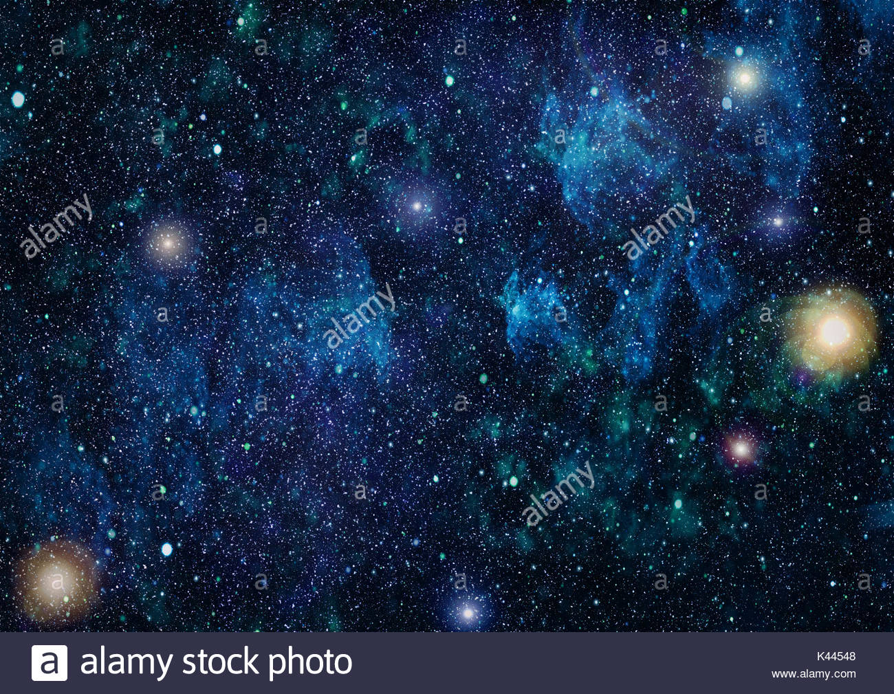 Colorful Starry Night Sky Outer Space background Stock Photo 1300x1009