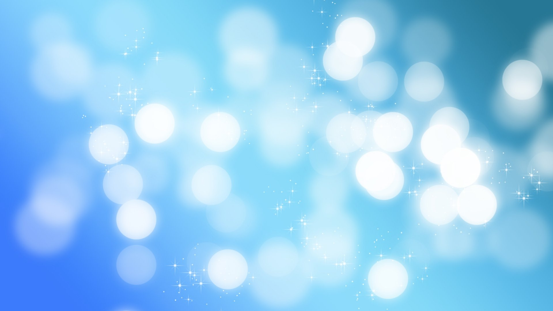 Blue Sparkle Wallpaper HD 1920x1080