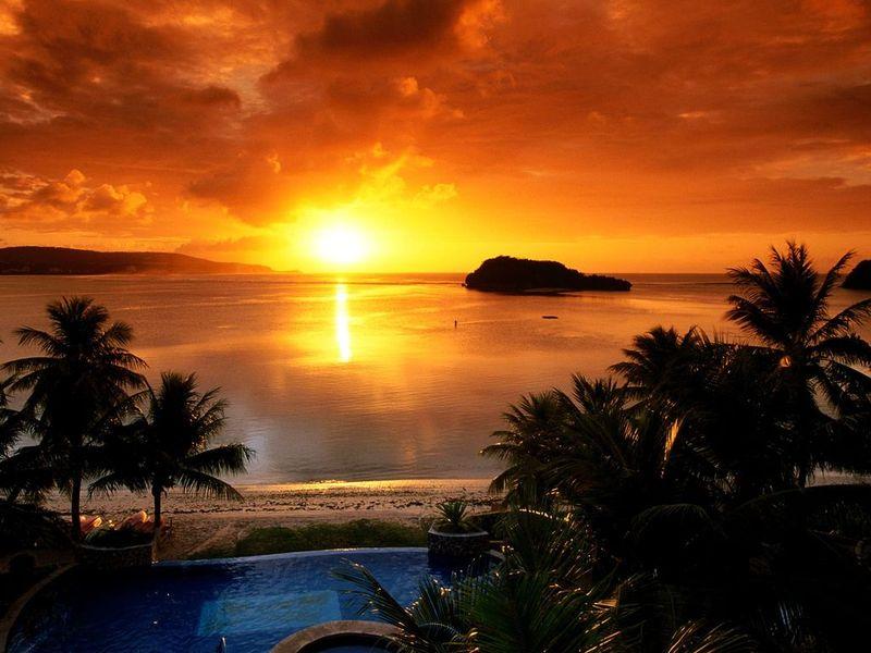 and Desktop Places Screen Savers Striking Sunsets Screensaver 800x600