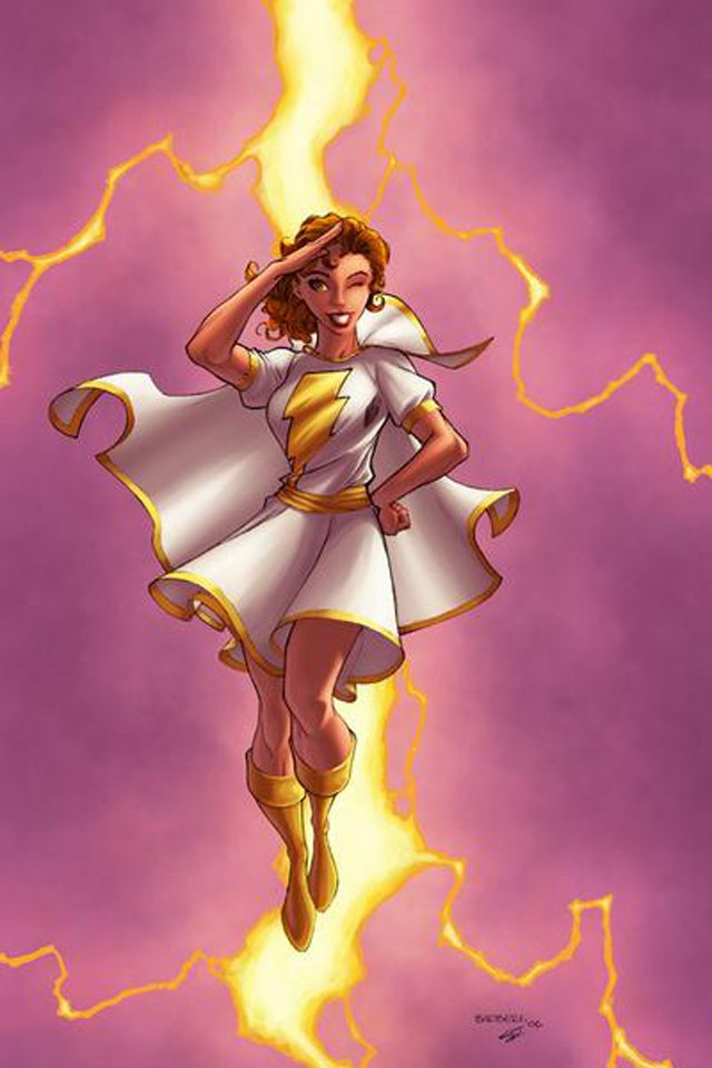 Mary Marvel I4 download wallpaper for iPhone 640x960