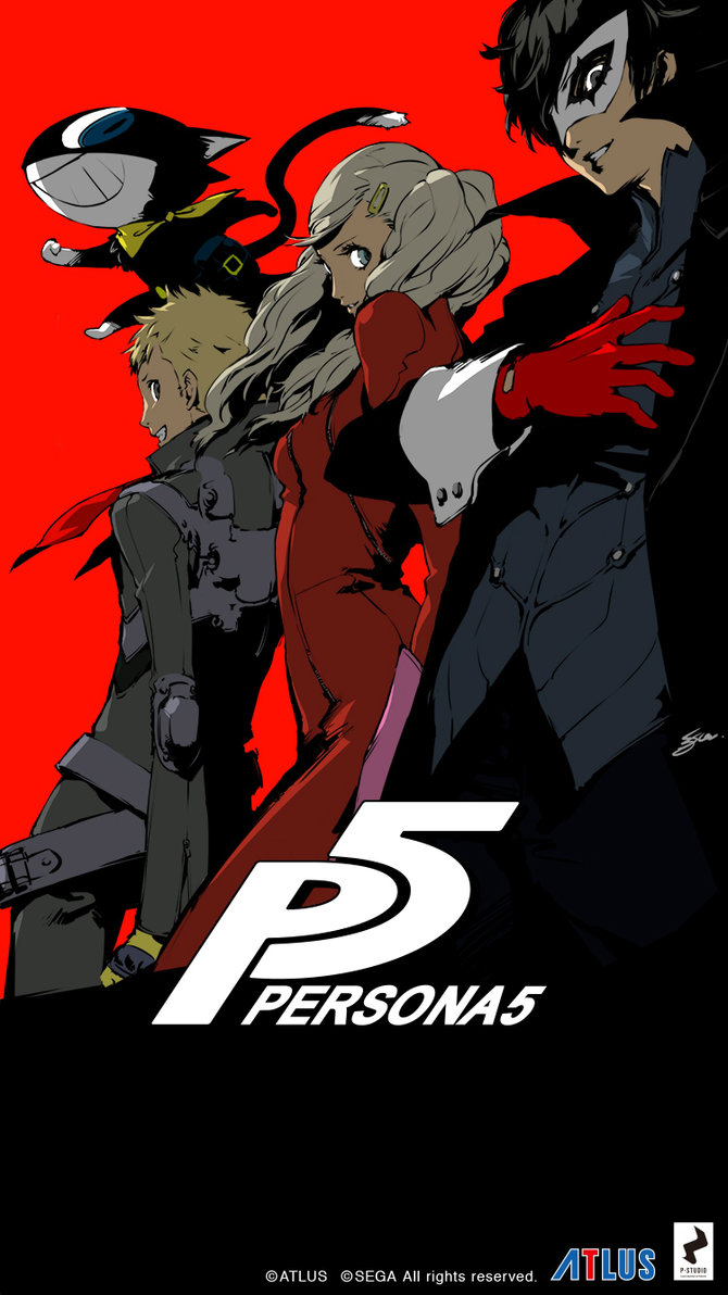 Persona 3 iphone 5 wallpaper - Persona 5 Iphone 6 Wallpaper Colored Version By Lazyaxolotl On