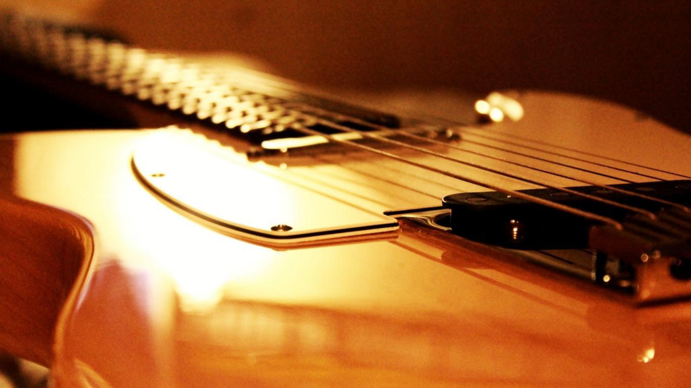 Fender Telecaster Wallpaper 1366x768