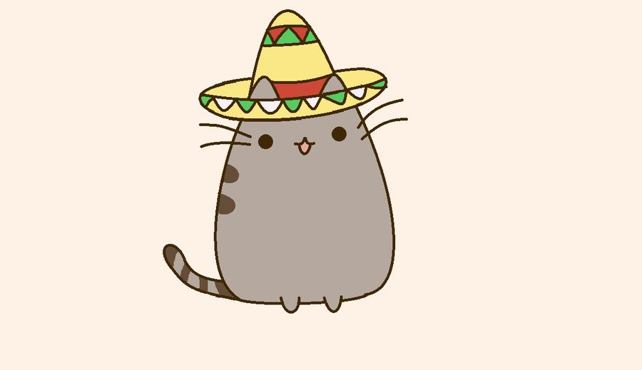 Pusheen Wallpaper Pusheen the cat mexicano by 900x519