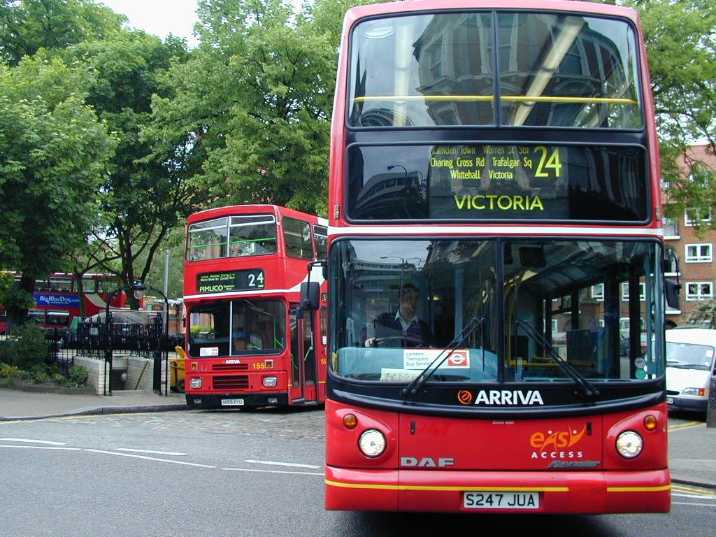 Two London Double Decker Busses Wallpaper and Backgrounds 1024 x 768 1024x768