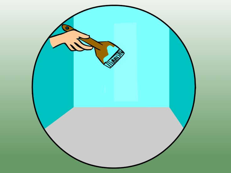 How to Remove Wallpaper That Has Been Painted Over    via wikiHowcom 736x552
