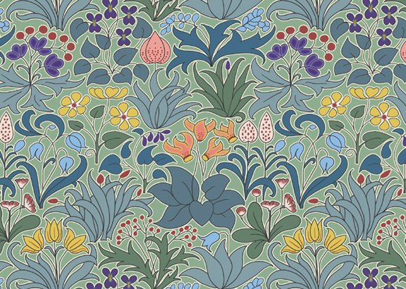 field guide 35 CFA VOYSEY WALLPAPER 576x410