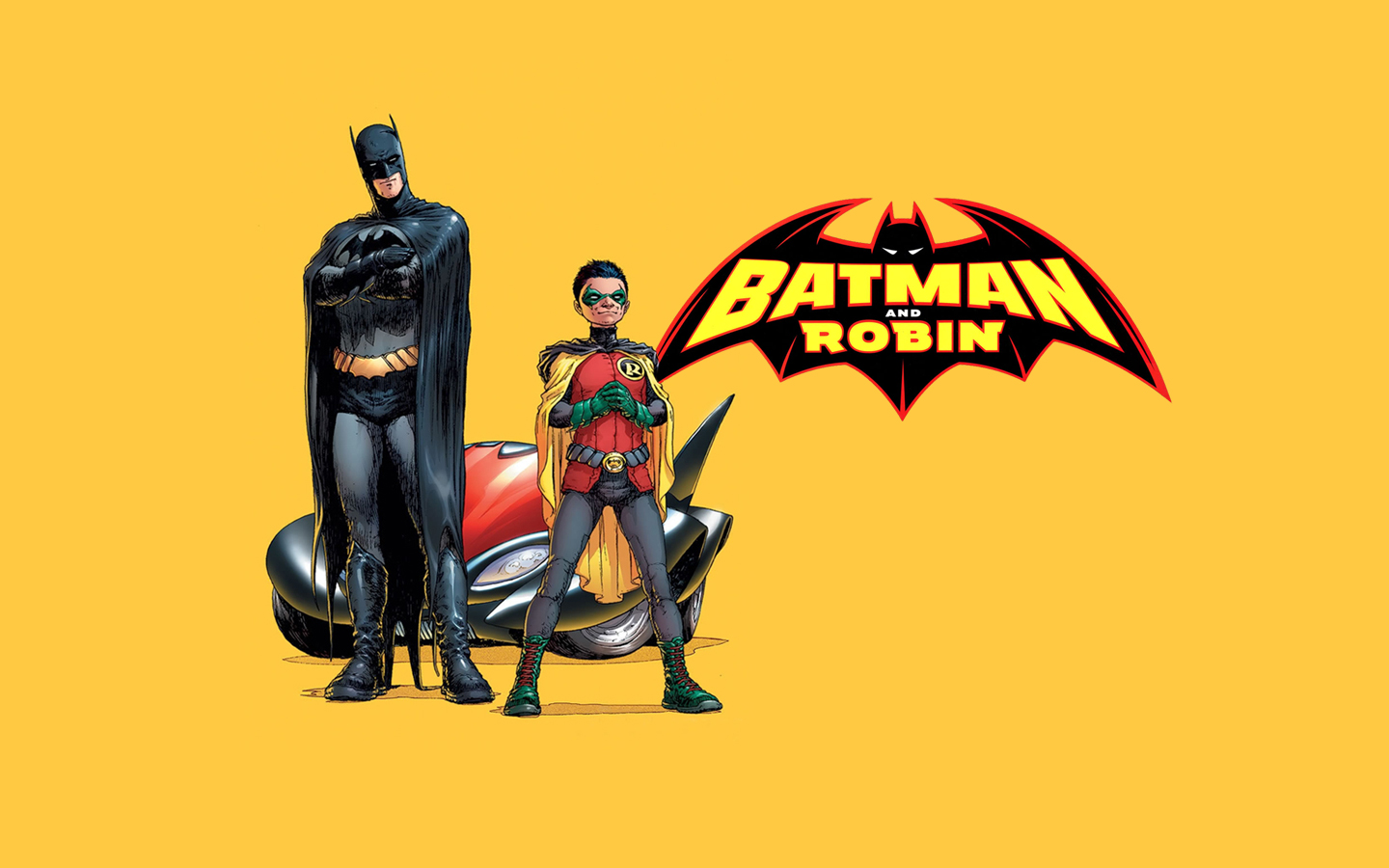 Comic of the Month Batman and Robin THE MORAL ARCHIVES 1440x900