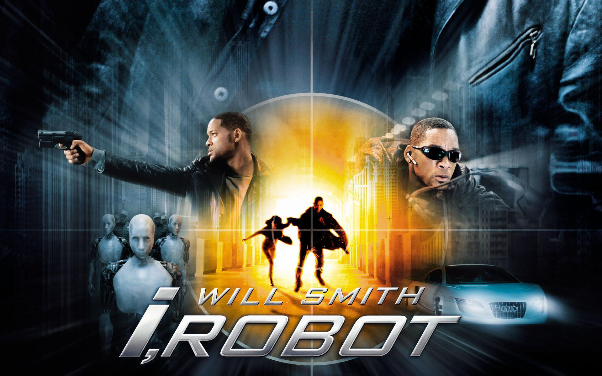 Will Smith I Robot Wallpapers HD Wallpapers 1920x1200