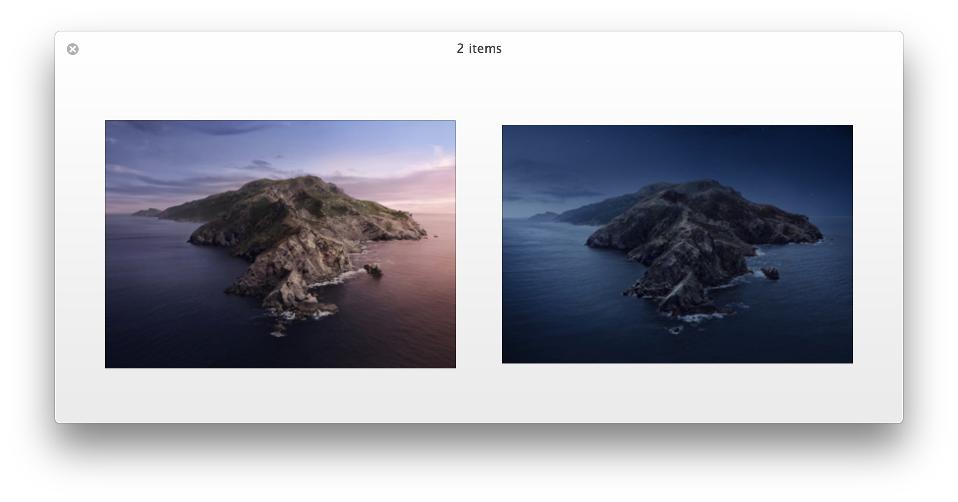 Get the MacOS Catalina Default Wallpapers 1950x1022