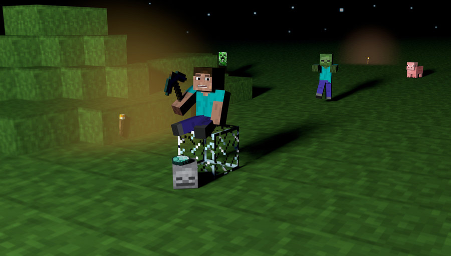 Funny Minecraft Screensavers Minecraft wallpaper by 900x512