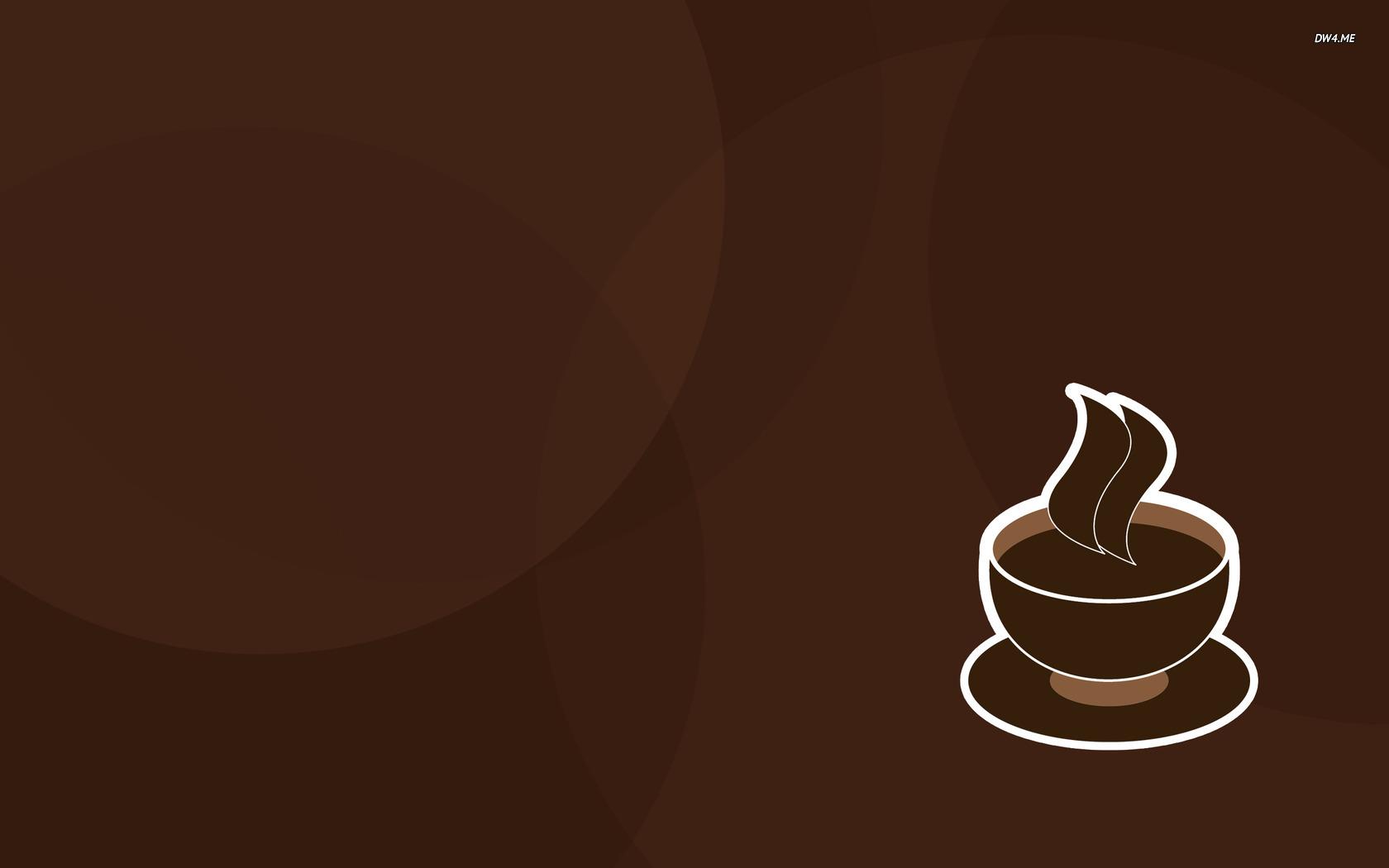 Coffee wallpaper   Vector wallpapers   704 1680x1050