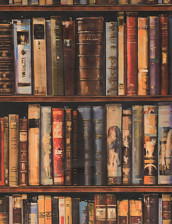 Library Wallpaper trendey 600x780