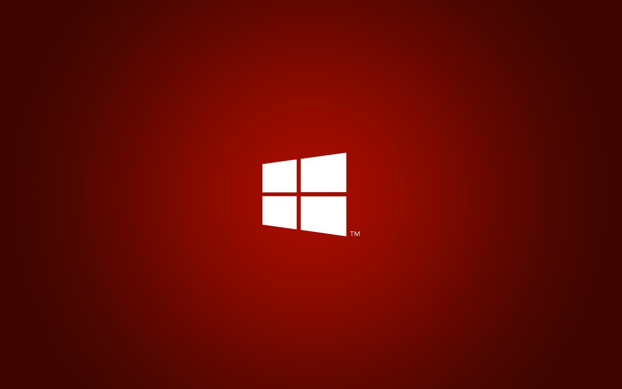 windows red wallpaper vista - photo #40