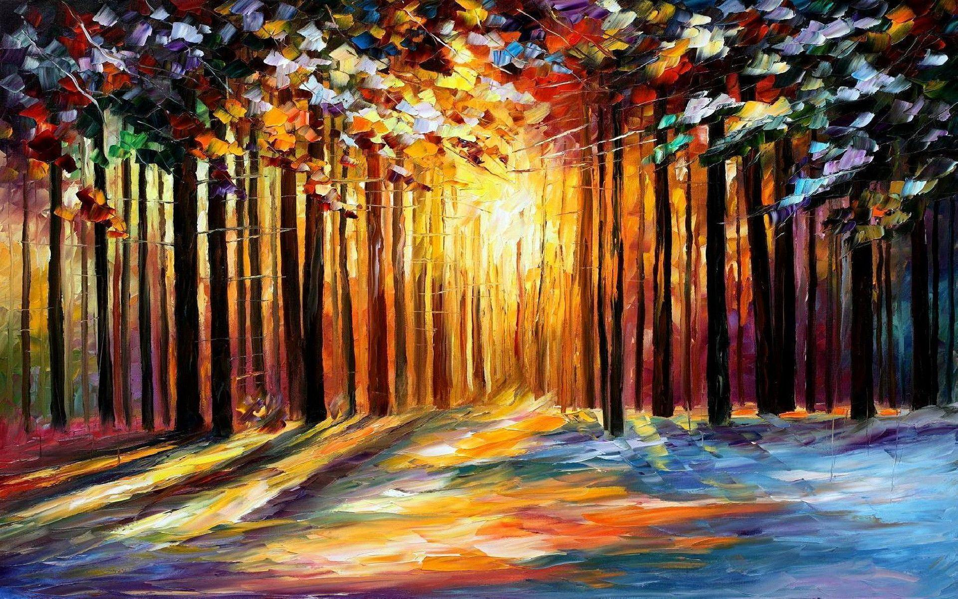 Leonid Afremov Wallpapers 1920x1200