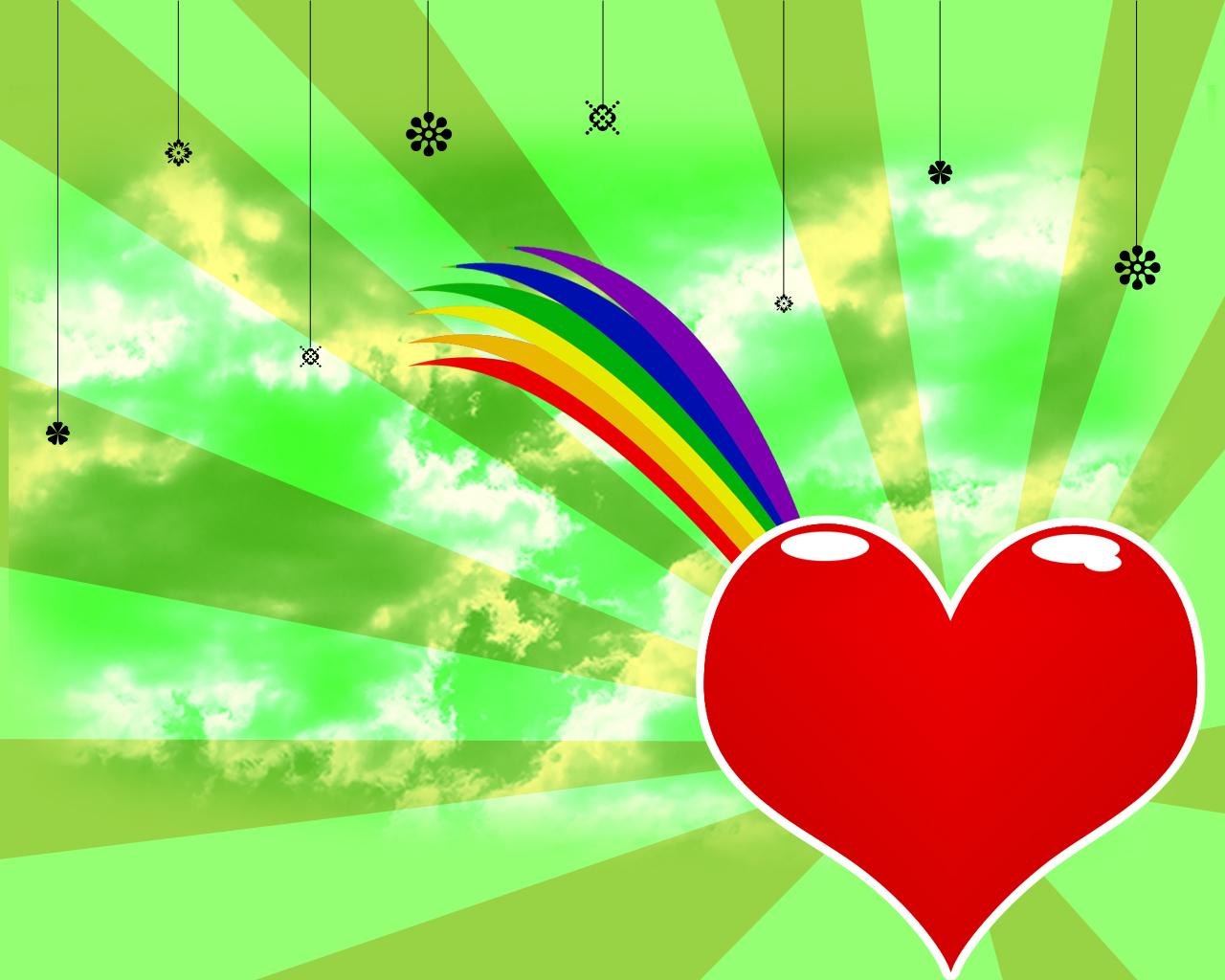 Gay Pride Wallpaper by HefruMaru 1280x1024