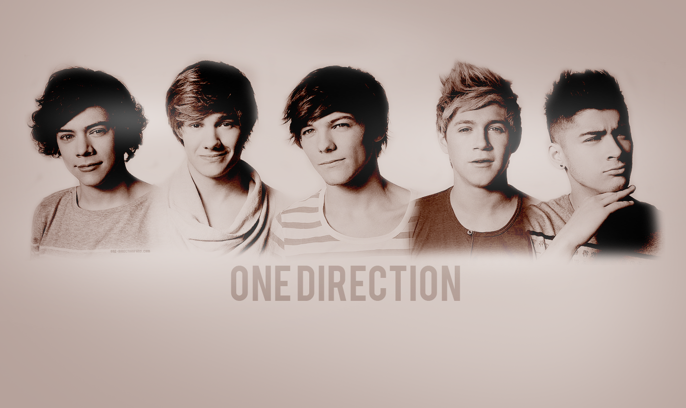 One Direction Wallpaper 1400x834