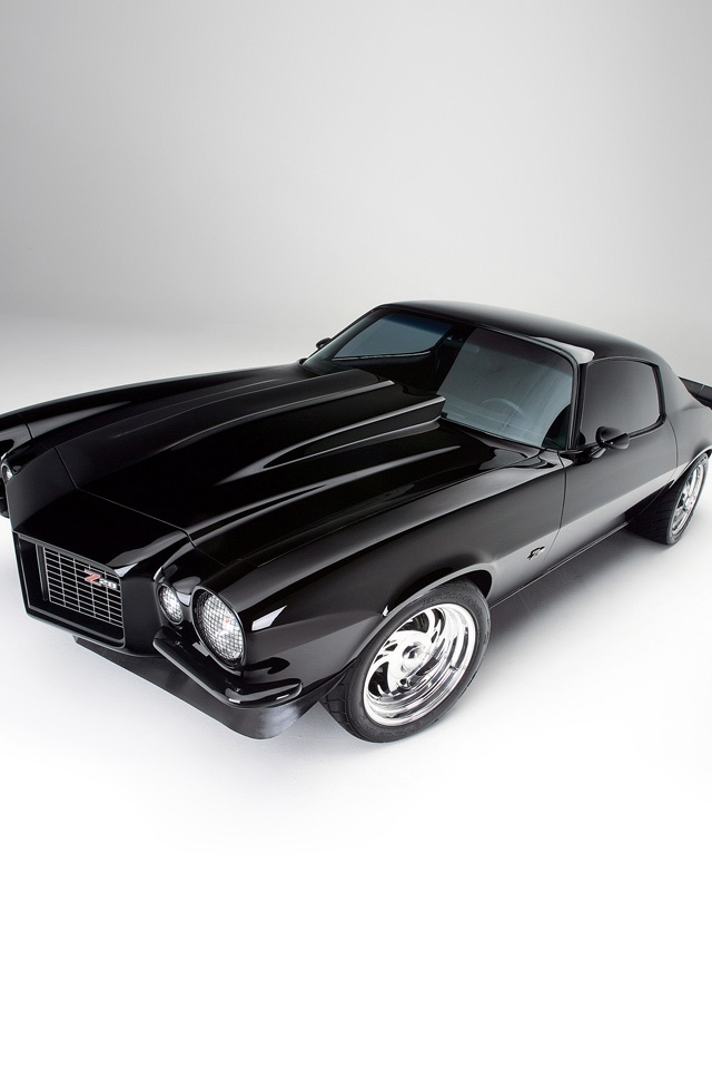 Cars   Chevrolet Chevy Camaro Z28 1971   iPad iPhone HD Wallpaper 640x960