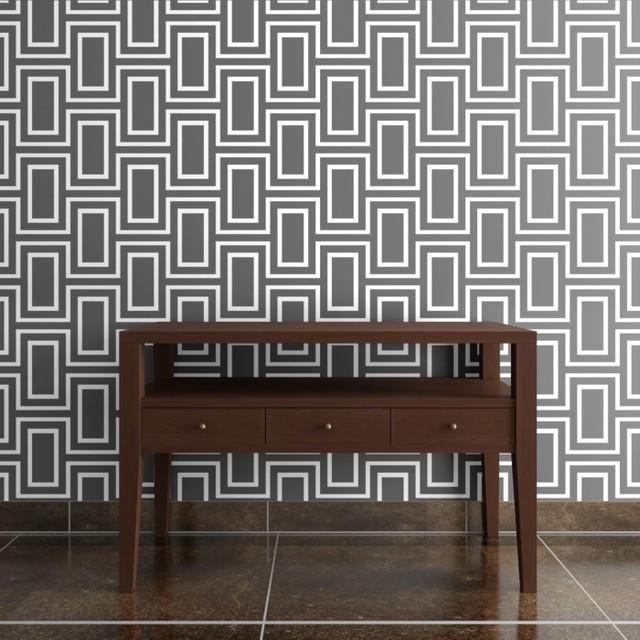 Doheny Wallpaper by Jeff Lewis Design   Modern   Wallpaper   by shop 640x640