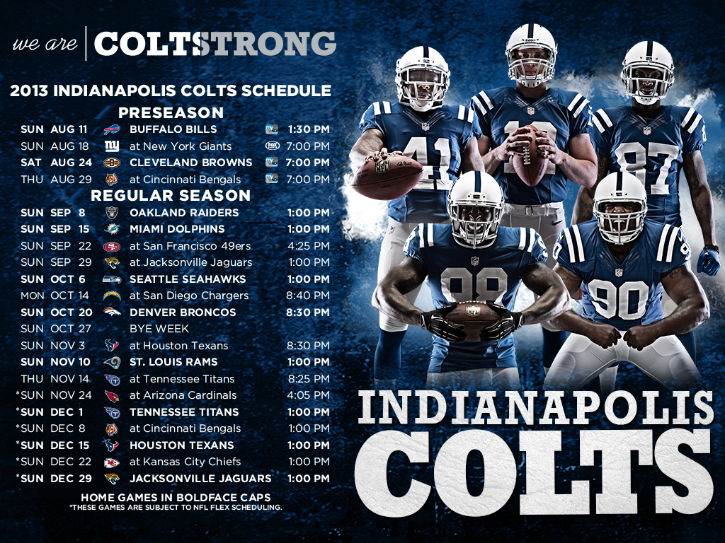 Coltscom COLTSTRONG Wallpapers 1024x768