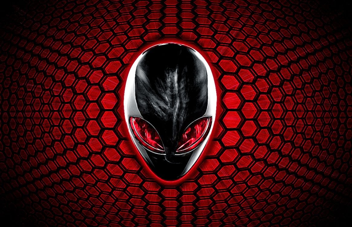 Alienware Wallpaper: HD Alienware Red Wallpaper