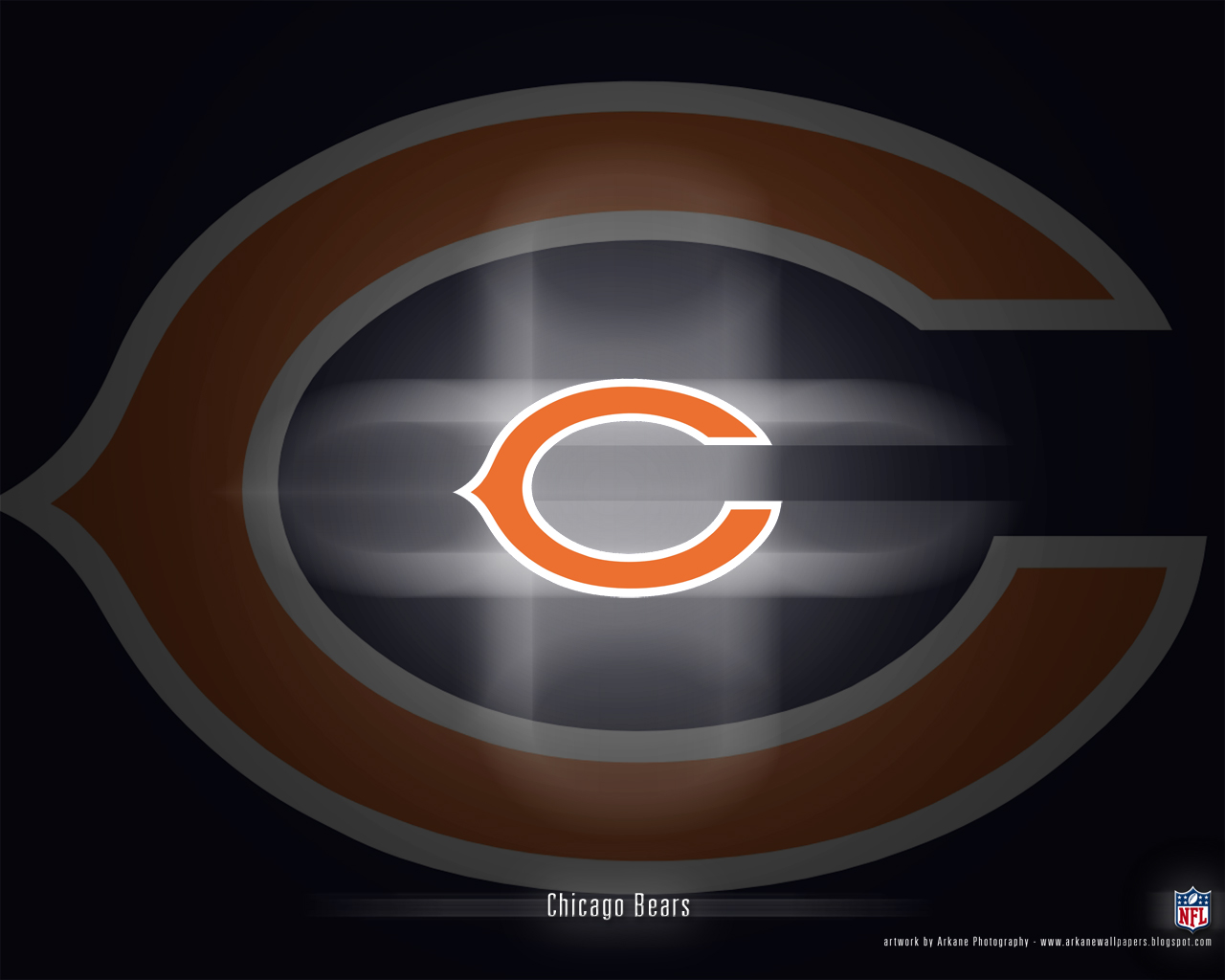 Arkane NFL Wallpapers Chicago Bears   Vol 1 1280x1024