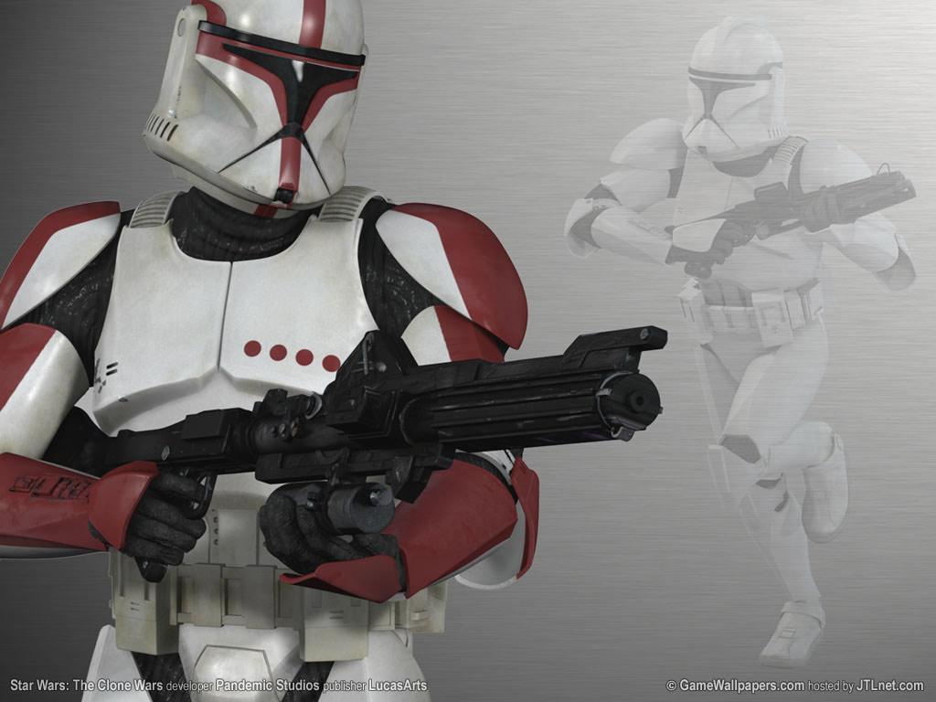 star wars clonewars trooper Star Wars Wallpaper 1024x768