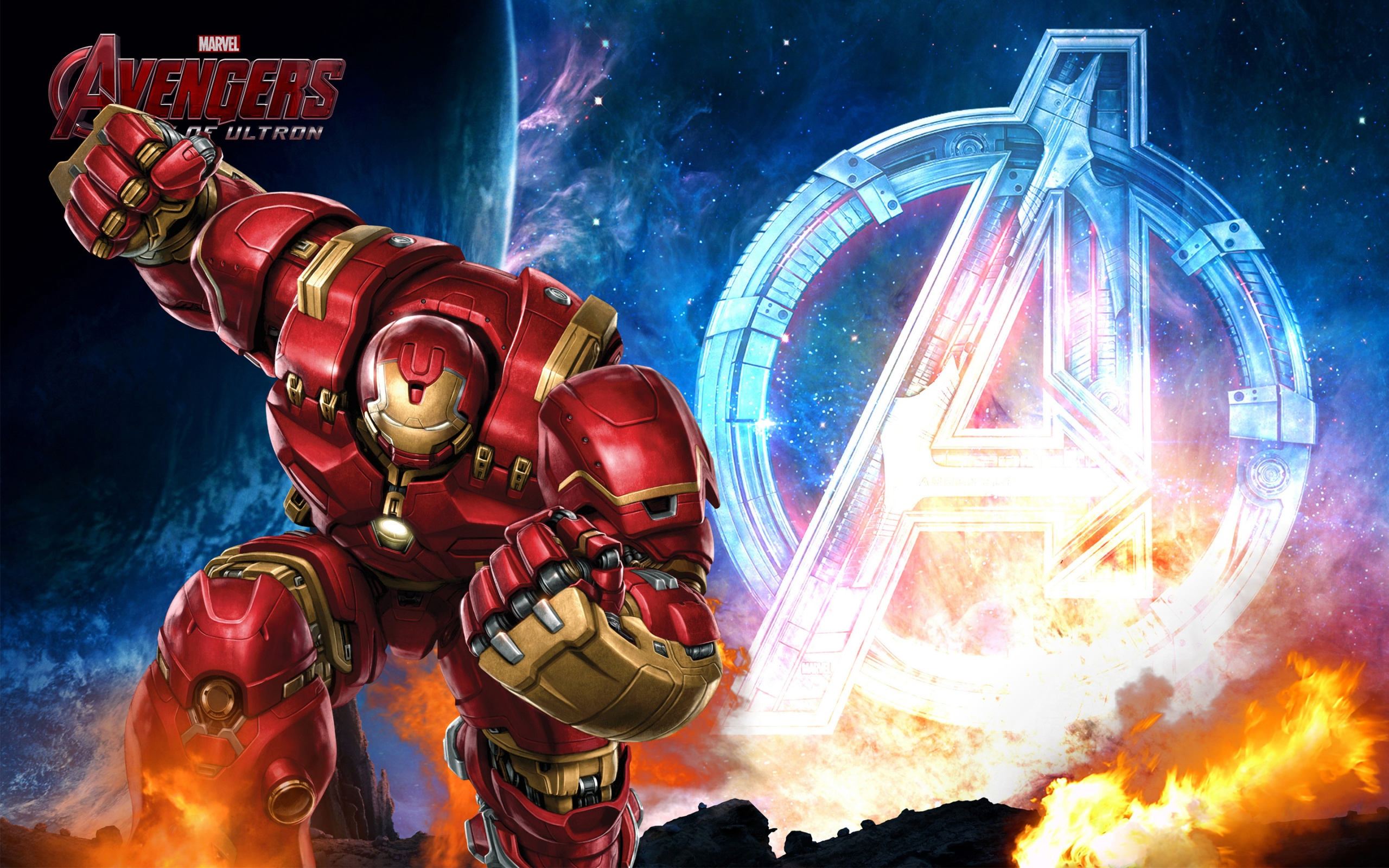 HD Background Avengers Age Of Ultron Iron Man Hulkbuster Wallpaper 2560x1600