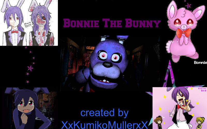 Bonnie The Bunny wallpaper one by XxKumikoMullerxX 800x500