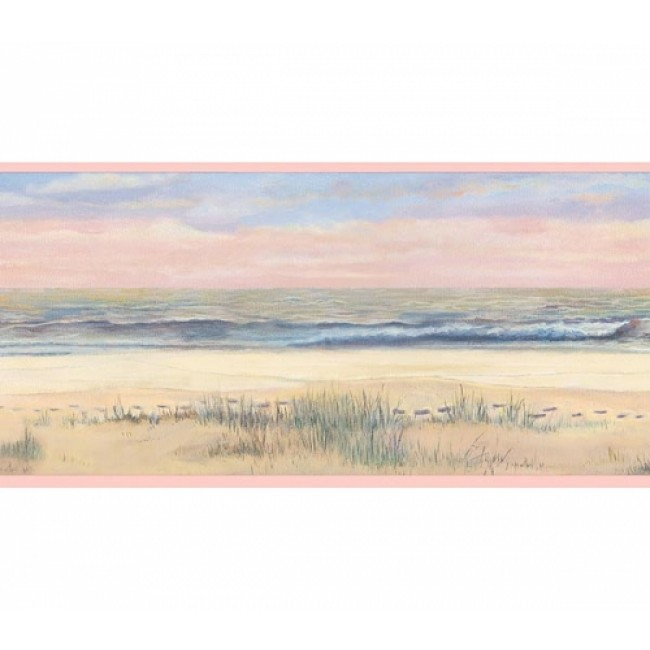 On The Beach Inspirational Wallpaper Border   All 4 Walls Wallpaper 650x650