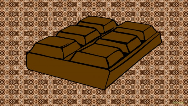 Chocolate bar wallpaper 600x338