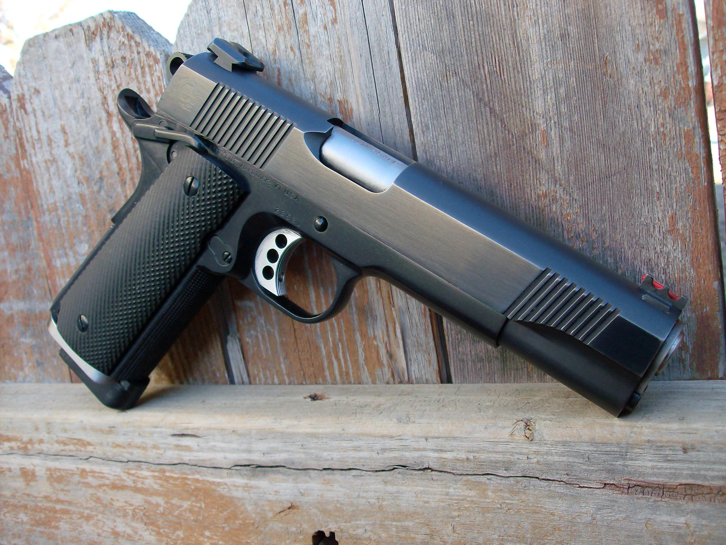 Weapons   Colt 1911 Pistol Wallpaper 2848x2136
