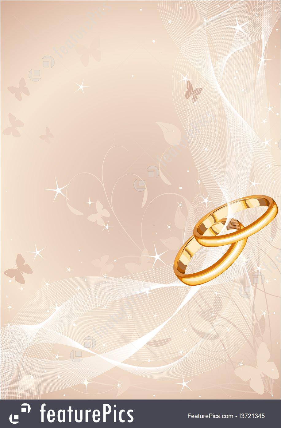 Celebration Wedding Rings Design   Stock Illustration I3721345 at 916x1392