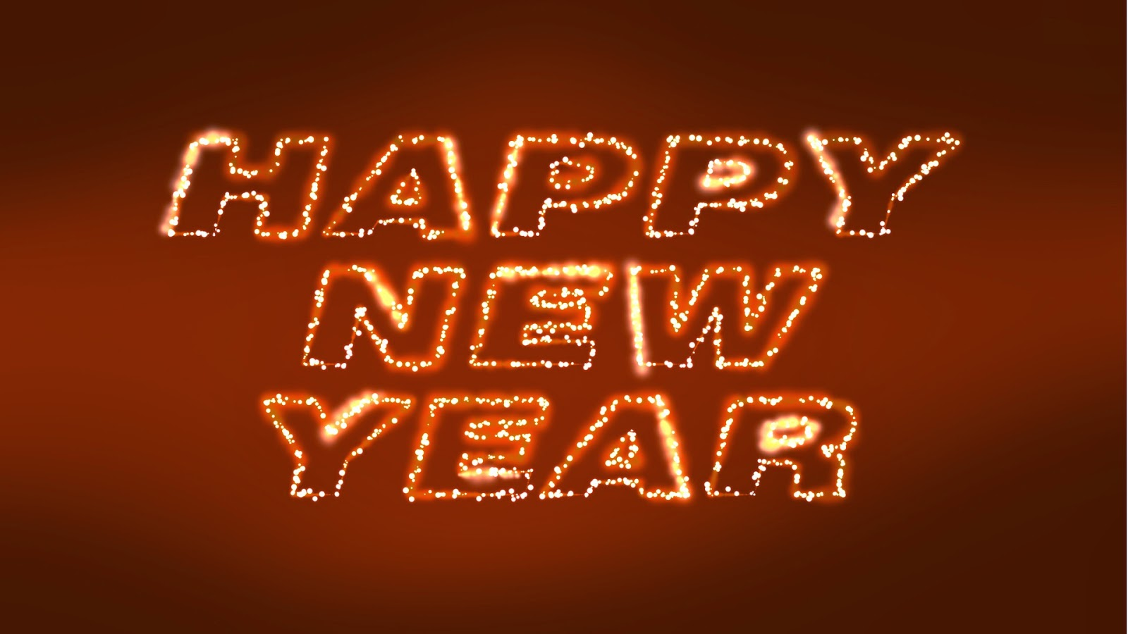 Happy New Year Wallpapers HD download 1600x900