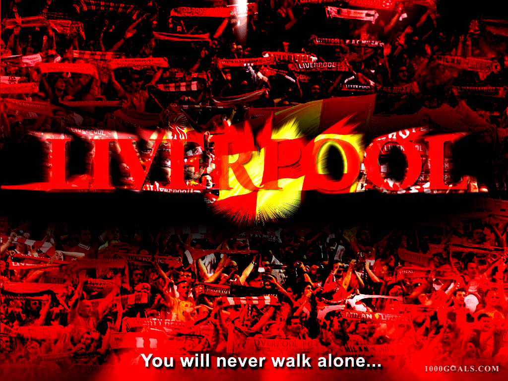 Youll never walk alone Liverpool Football Club 1024x768