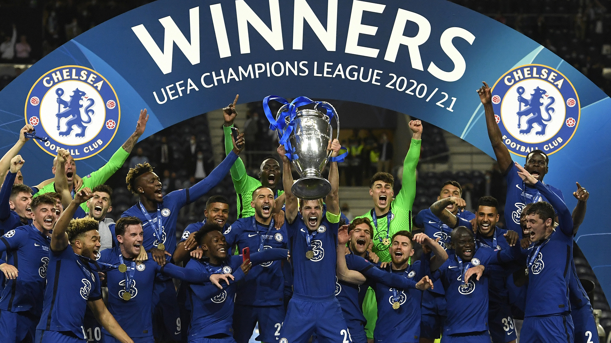 Chelsea beat Man City to win Champions League for 2nd time   CGTN 2048x1152