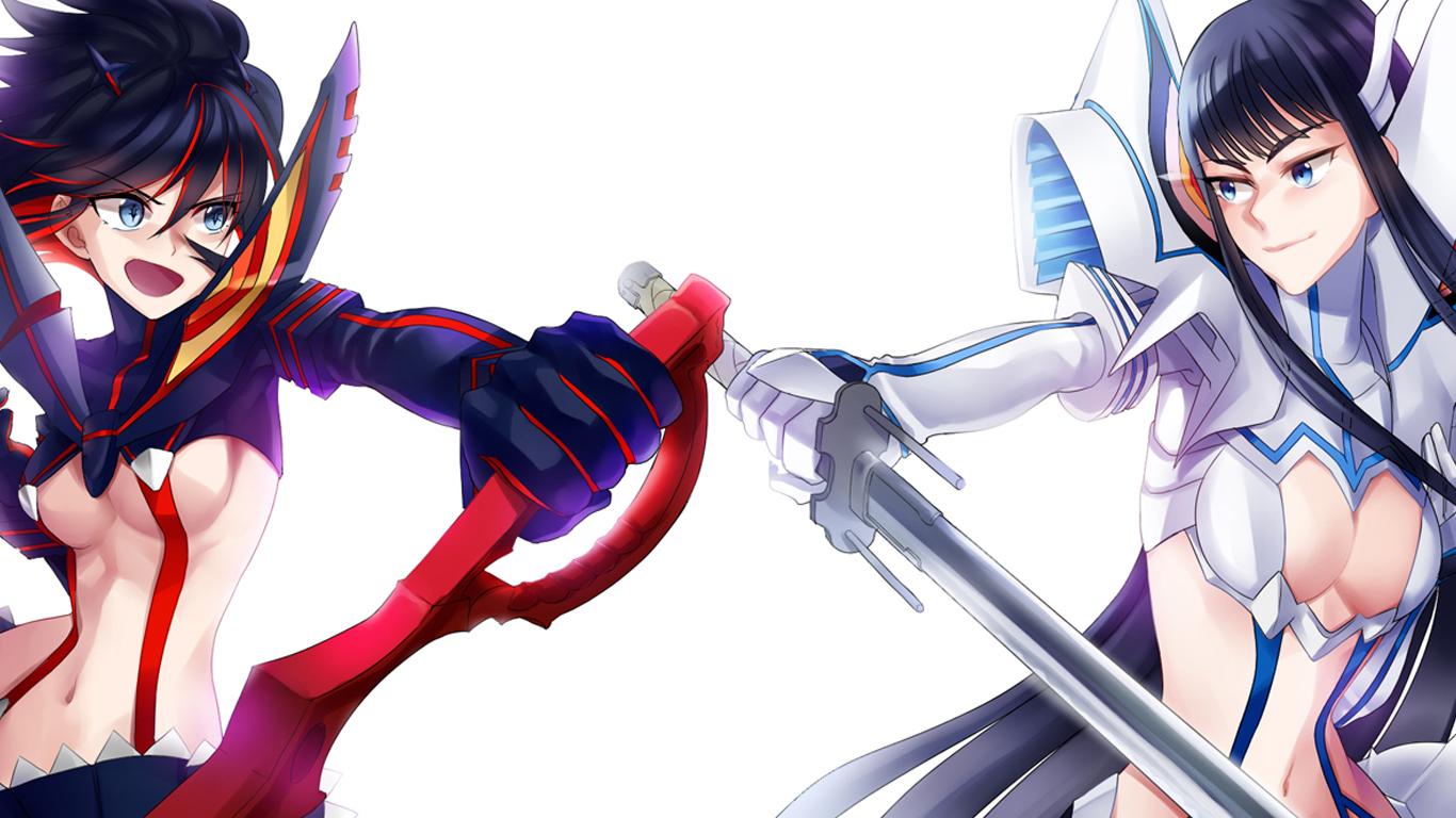 Free Download And Satsuki Kiryuin Kiryuin Kill La Kill Girls Anime