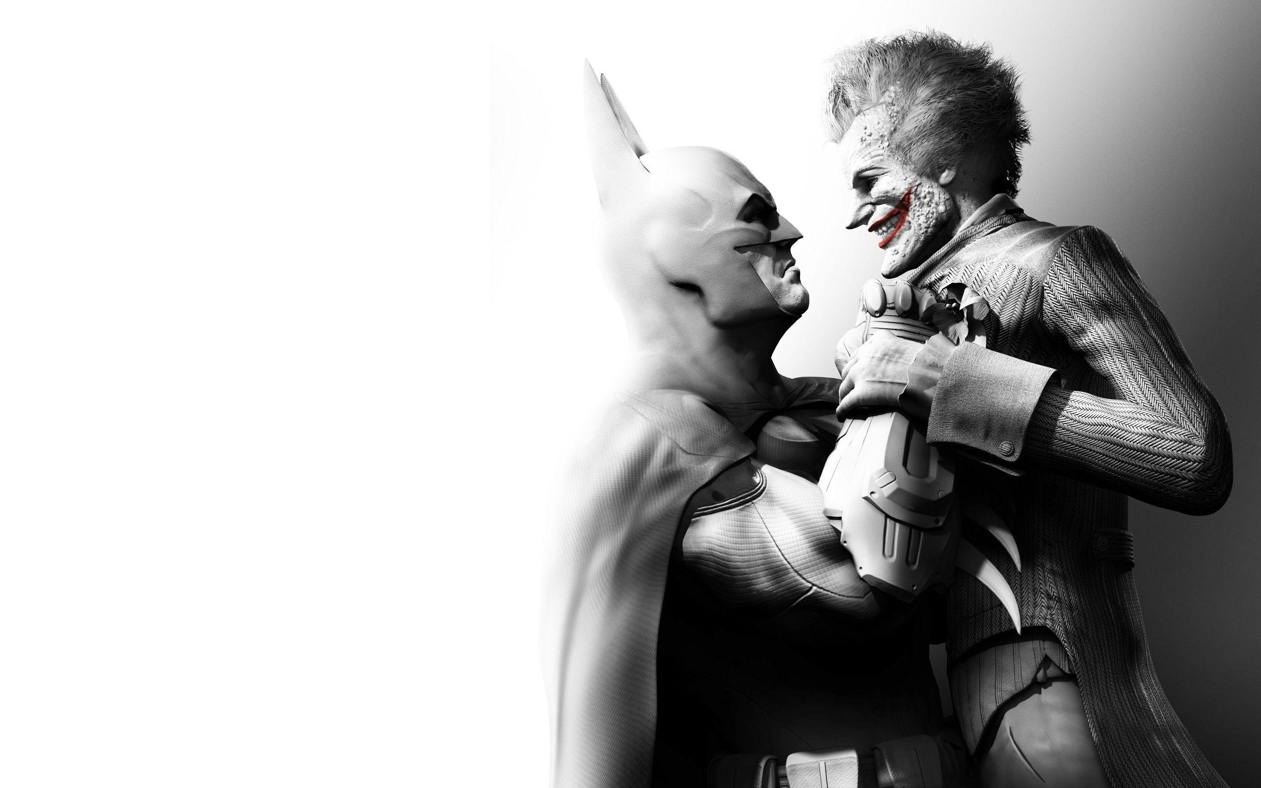 Batman And Joker Wallpapers 2560x1600