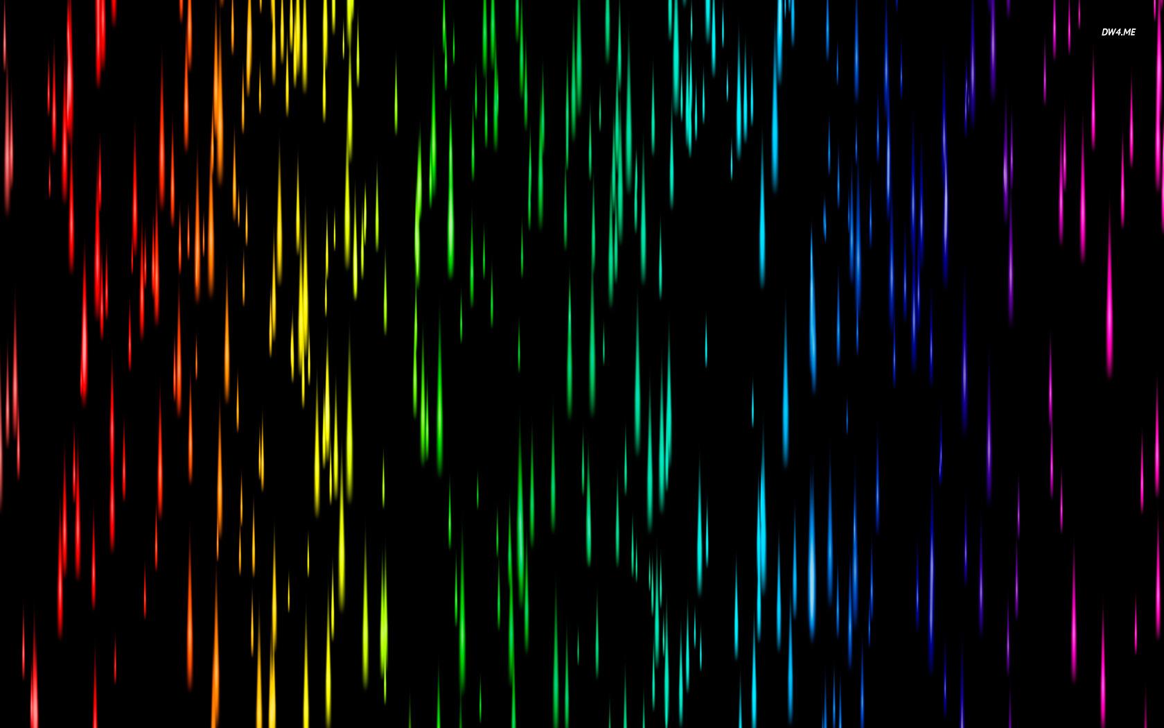 Colorful rain wallpaper 1920x1080 Colorful rain wallpaper 1920x1200 1680x1050