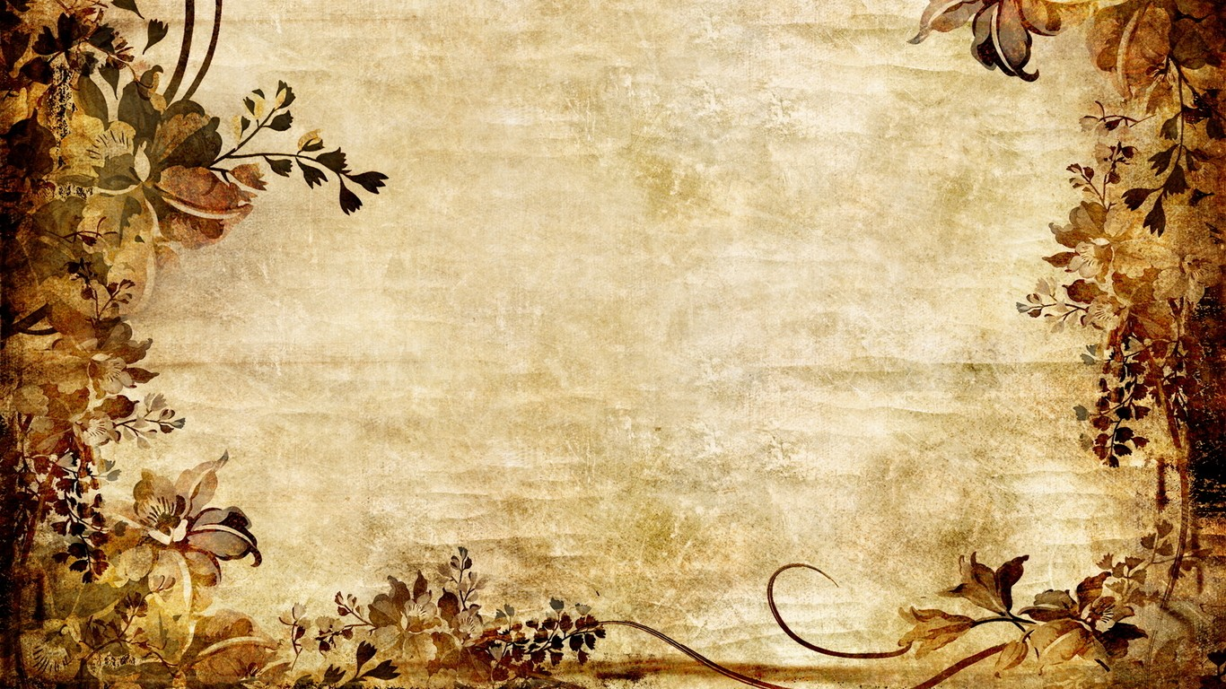 Download Vintage Textures Hipster Floral Fresh New Wallpaper 1366x768