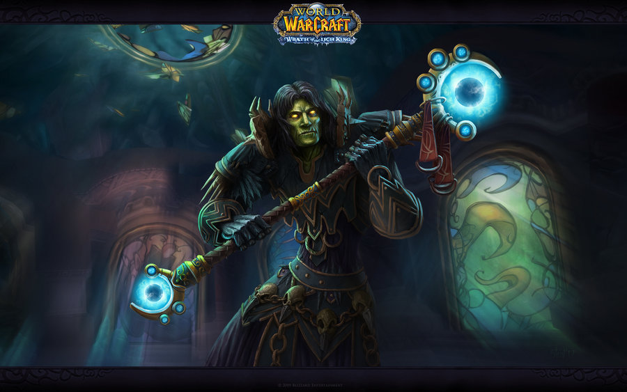 Undead warlock from World of Warcraft wallpaper by CorvuS567 on 900x563