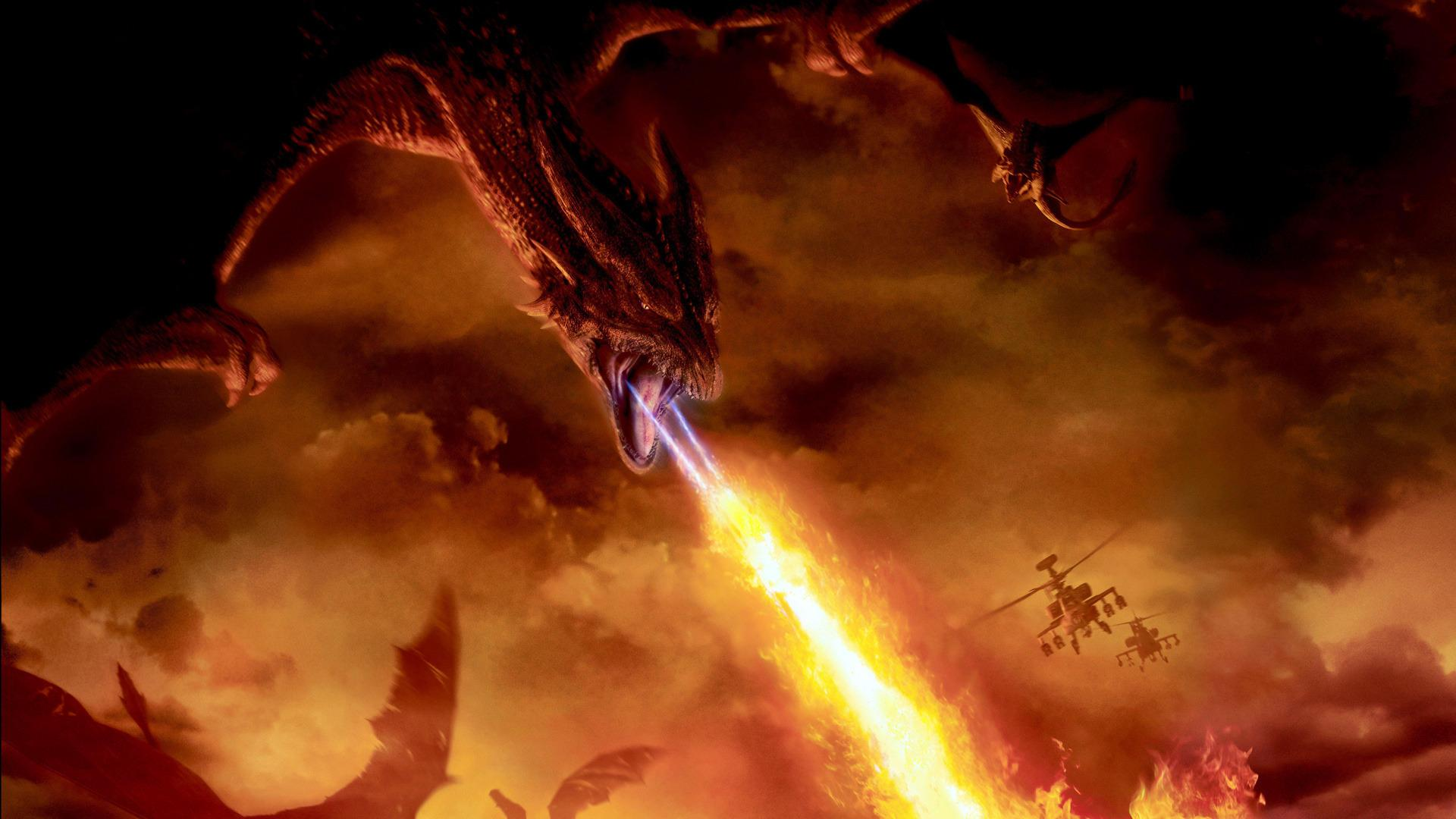 Dragon Fire Helicopter London movies movie dragons battle wallpaper 1920x1080