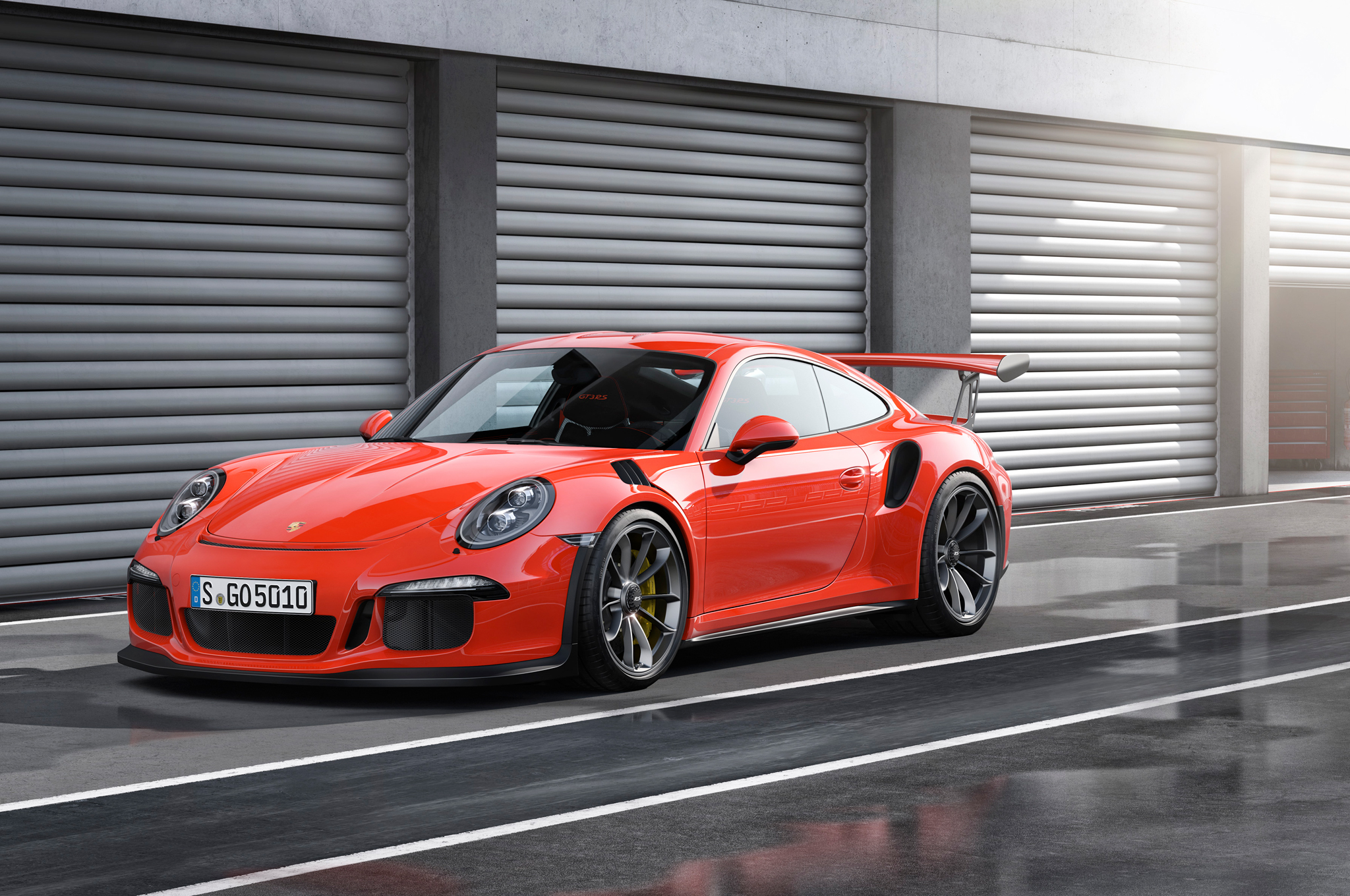 2016 Porsche 911 GT3 RS Arrives in US This July With 500 HP Photo 2048x1360