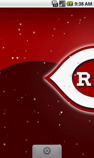 View bigger   Cincinnati Reds Live Wallpaper for Android screenshot 307x512