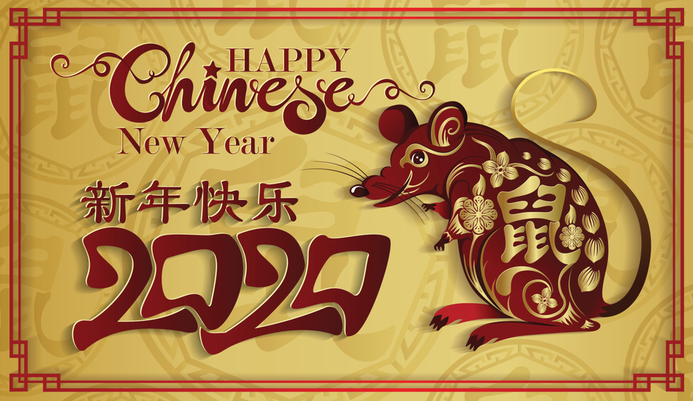 Happy Chinese New Year 2020 Images HD Wallpapers   POETRY CLUB 1000x578