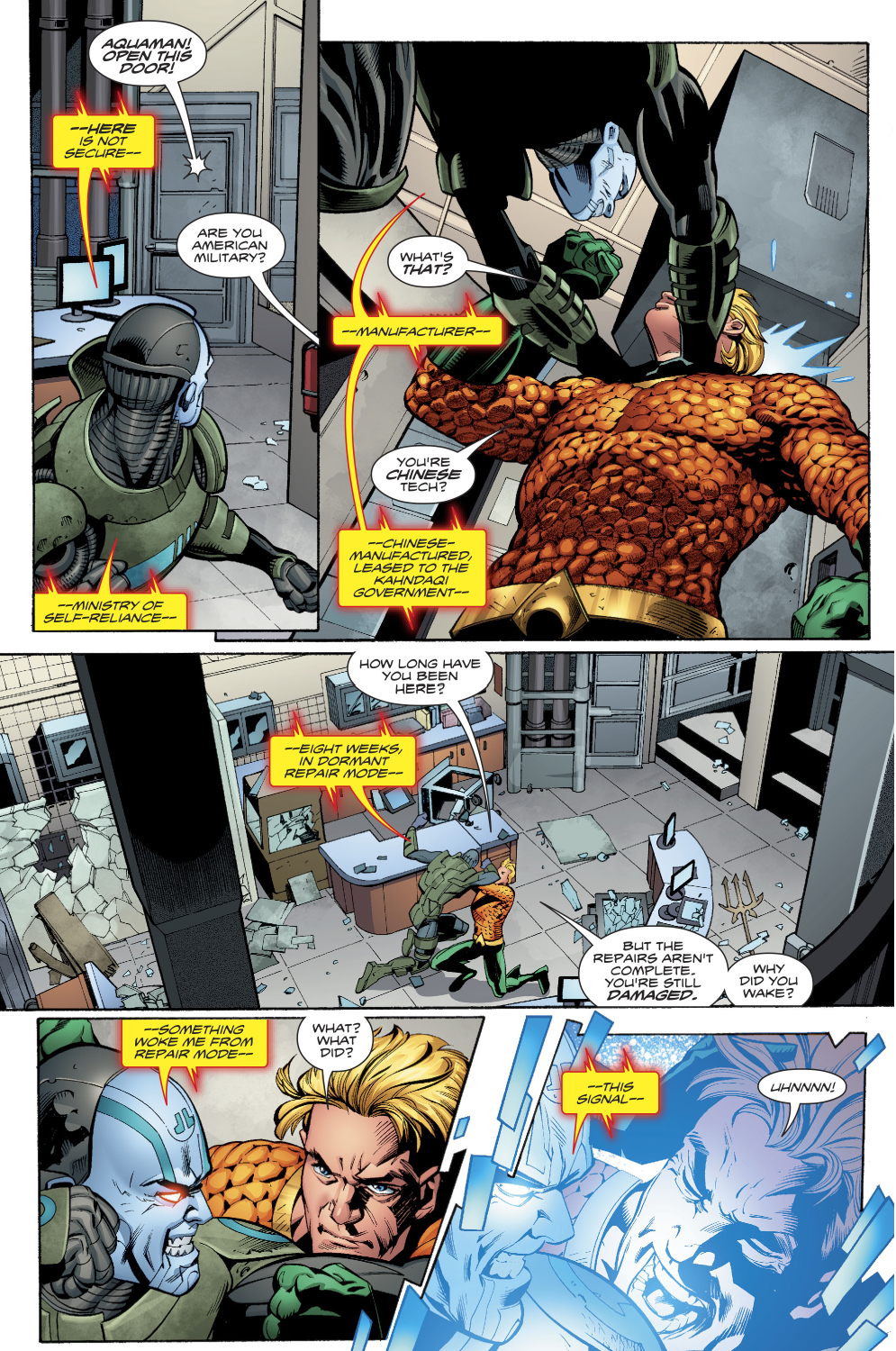 Aquaman Learns Warheads Background Story Comicnewbies 995x1500