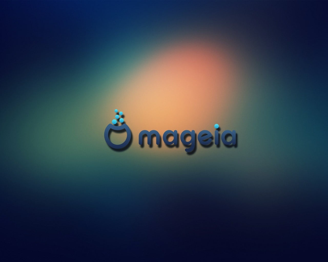 Black and white LED light Linux Mageia HD wallpaper Wallpaper 1280x1024