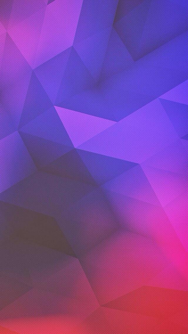 38] Purple Geometric Wallpaper on WallpaperSafari 640x1136